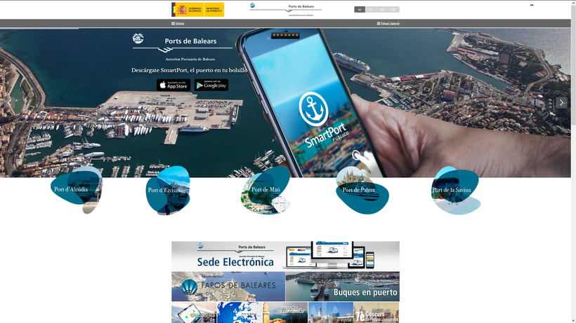 Puertos de Islas Baleares - Ports de Balears -1