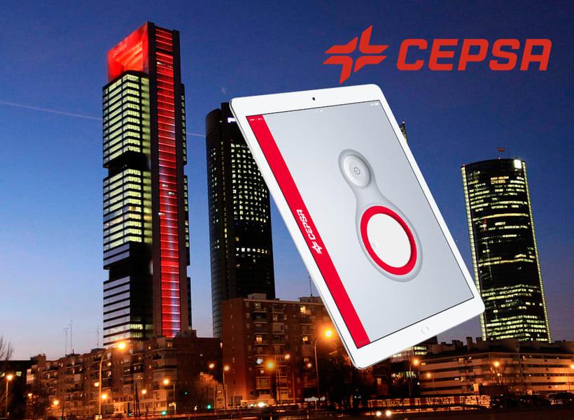 Control de iluminación Torre CEPSA 1