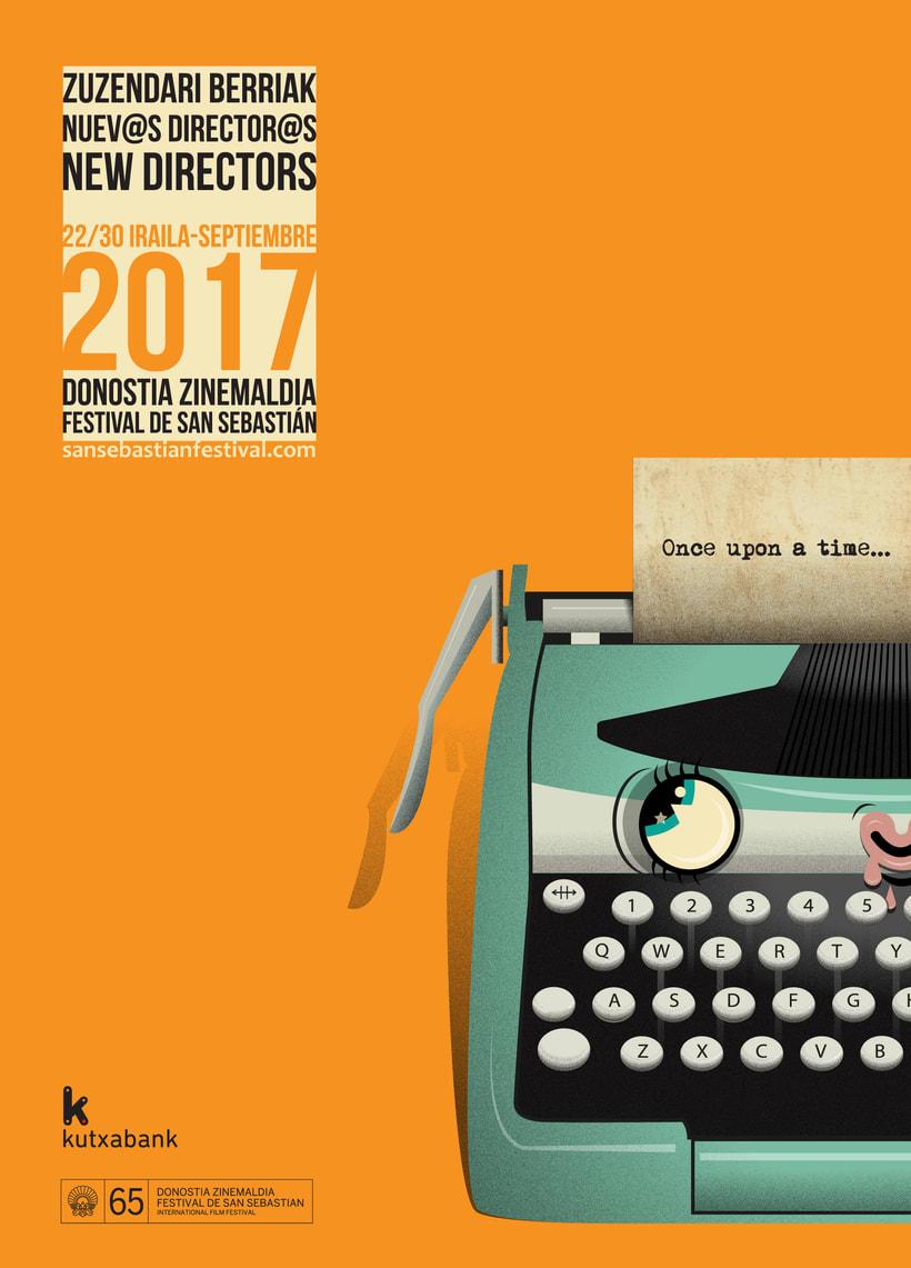 cartel Nuevos directores para el Zinemaldia de Donosti -1