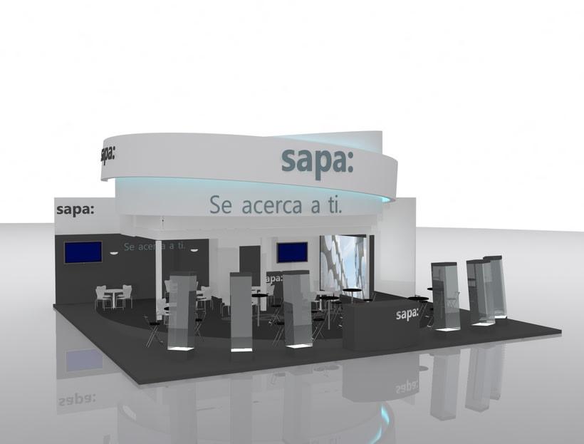 Stand Grupo Sapa Veteco 2016 2