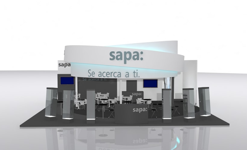 Stand Grupo Sapa Veteco 2016 1