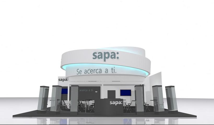 Stand Grupo Sapa Veteco 2016 3