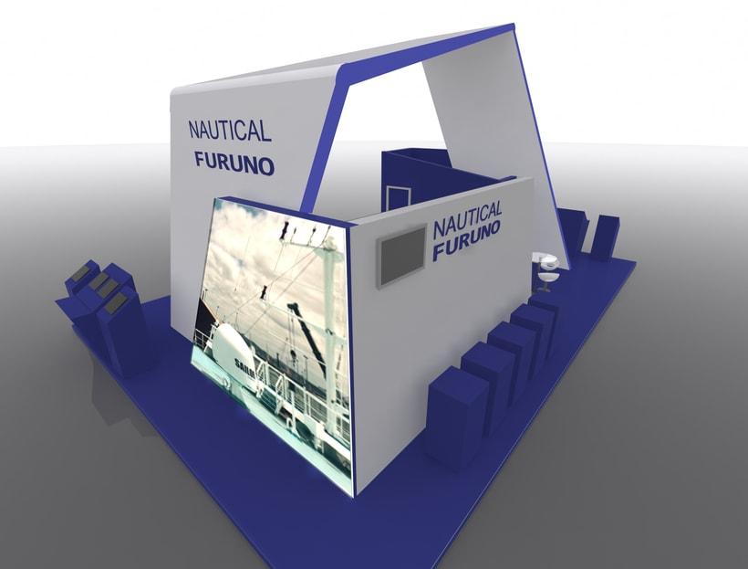 Stand Nautical Furuno Navalia 2016 1