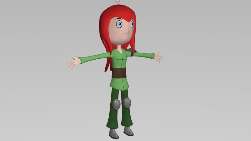 Seina. Modelado 3D 1