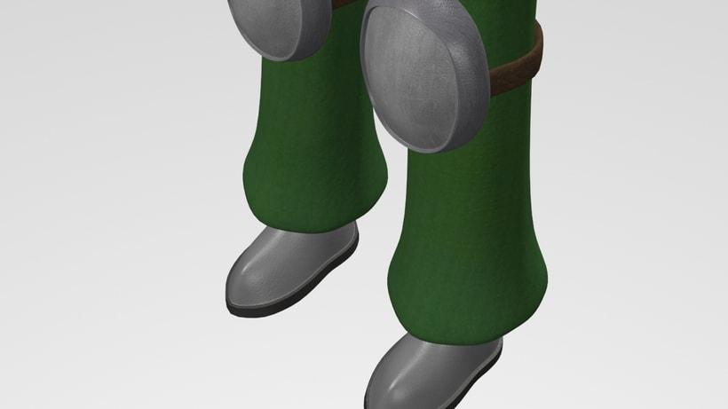 Seina. Modelado 3D 4