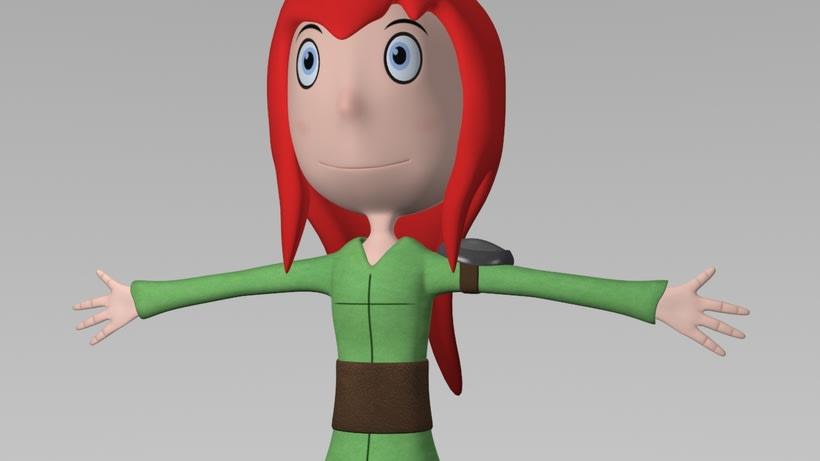 Seina. Modelado 3D 8