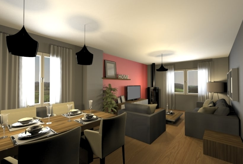 Diseño salón/Comedor 1
