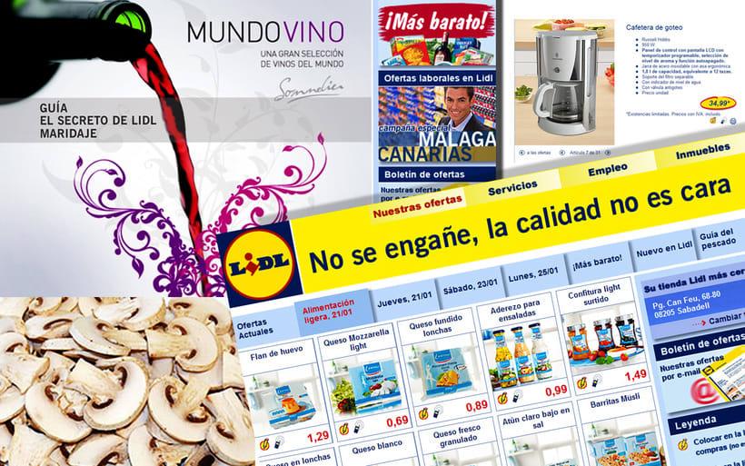 Web Lidl España 0