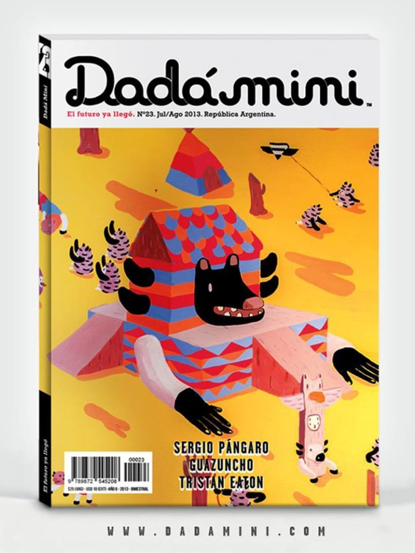 Dadá Mini Revista de Arte.  0