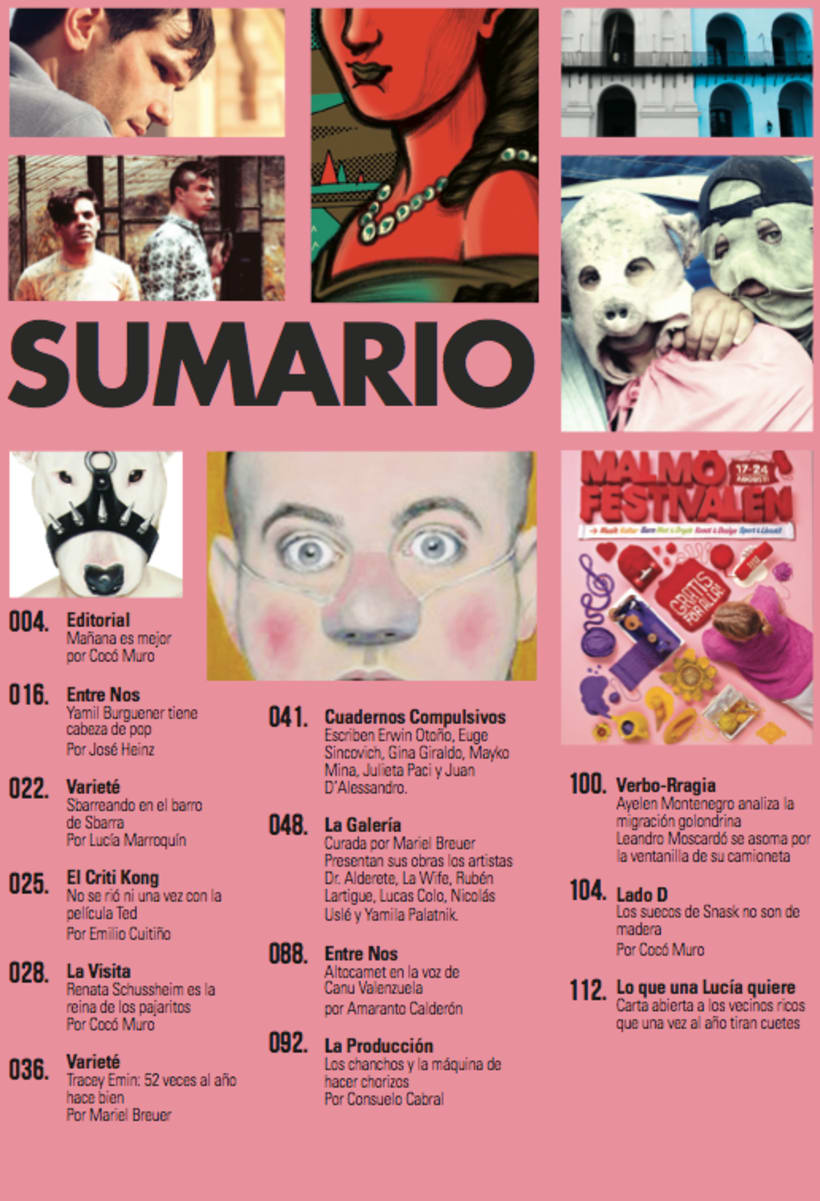 Dadá Mini Revista de Arte.  2
