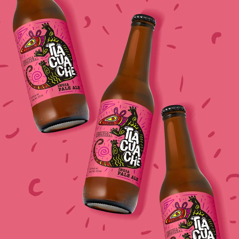 Cerveza artesanal Tlacuache 5