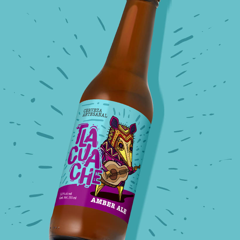 Cerveza artesanal Tlacuache 6