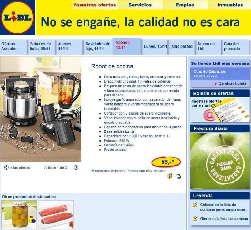 Web Lidl España 2