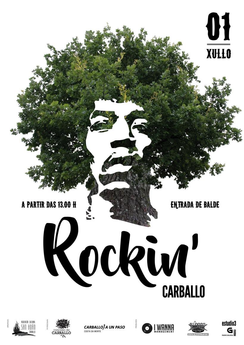 Cartaz Rockin' Carballo 2017 -1
