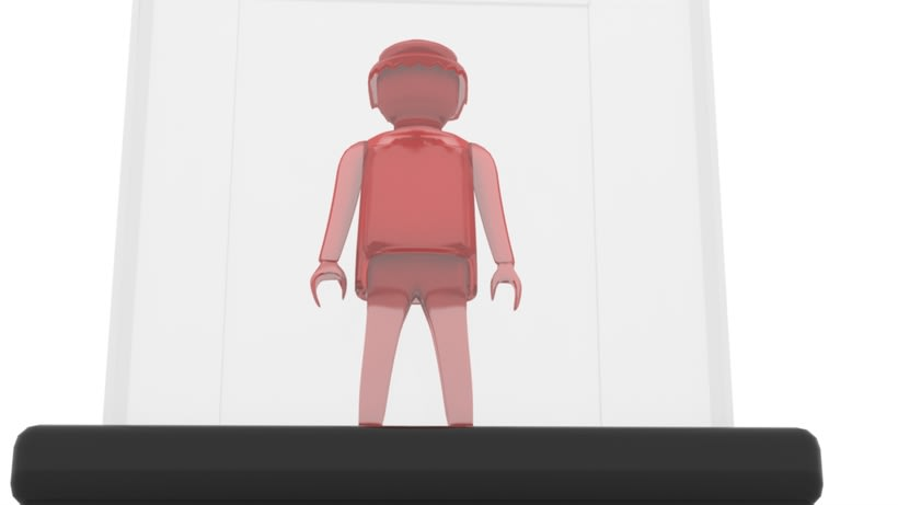 Modelo 3DMax: Click semitransparente 0