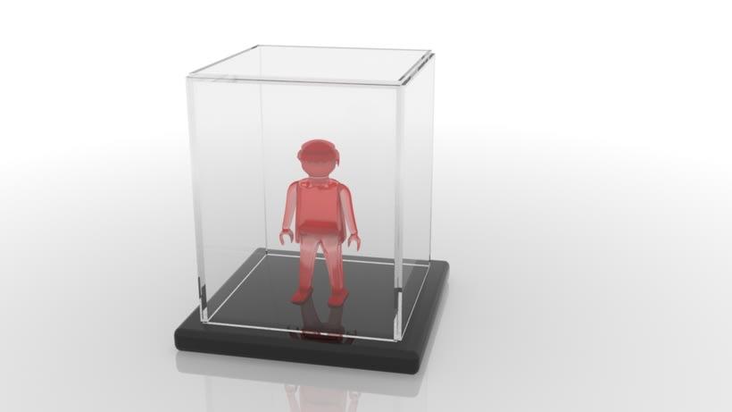 Modelo 3DMax: Click semitransparente 5