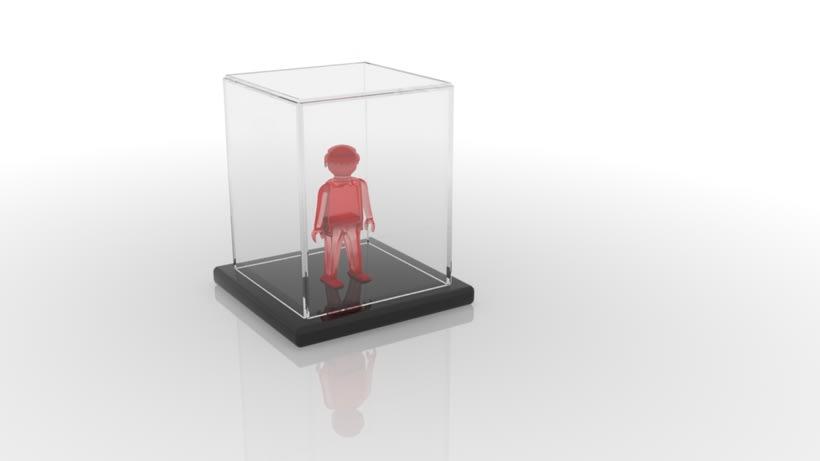 Modelo 3DMax: Click semitransparente 6