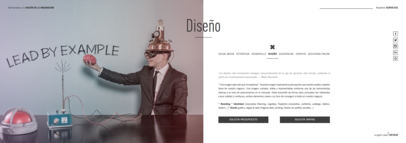 Interactive Dossier Design 3