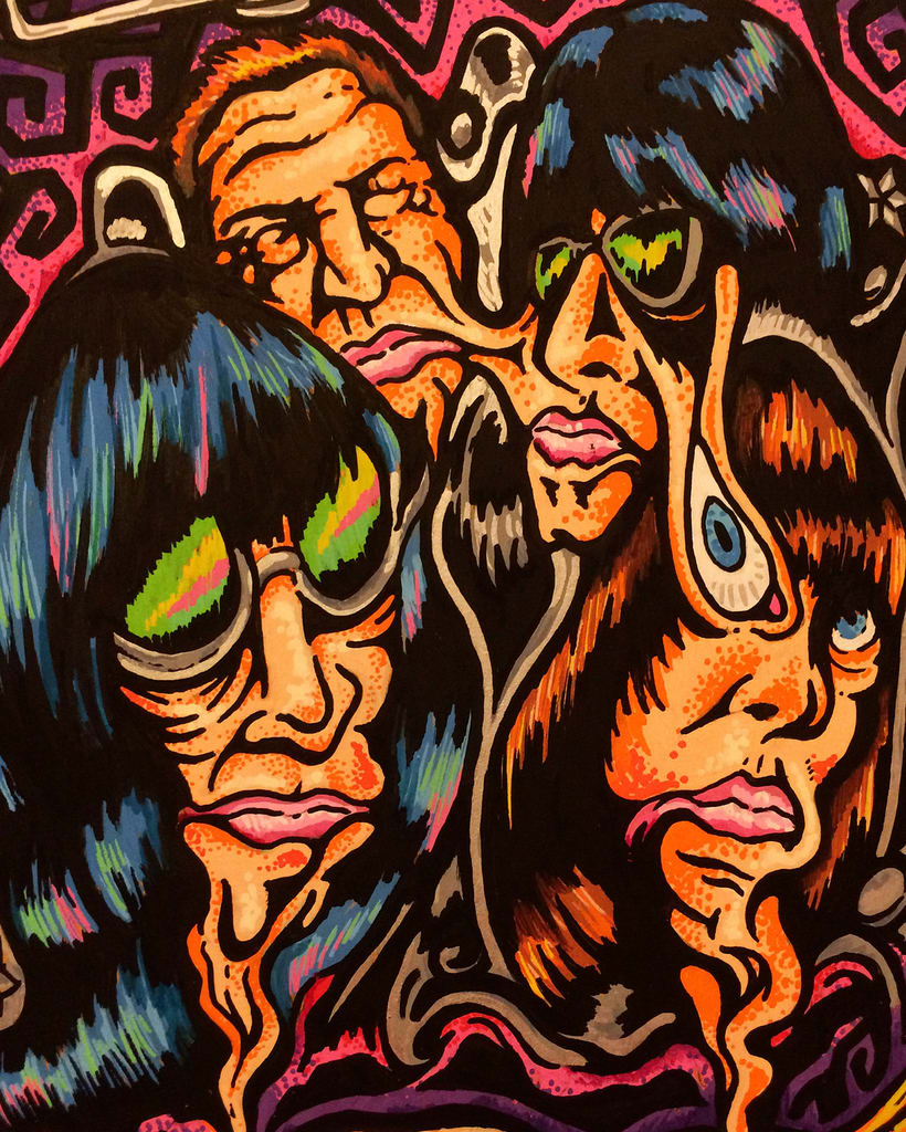 The Ramones - Acid Eaters Longboard. Hey! Oh! Let´s Go! 11
