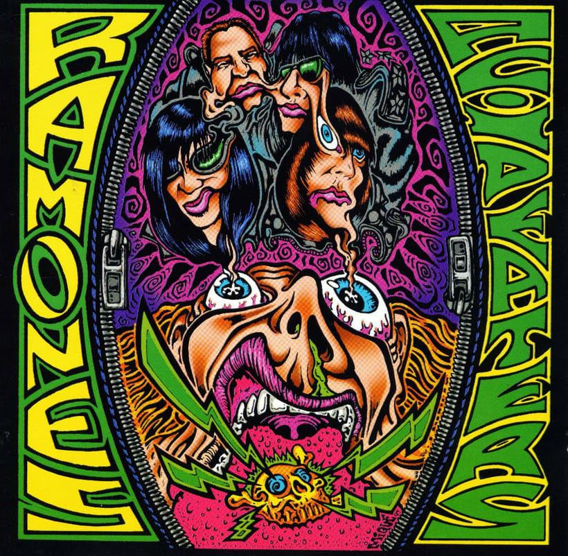 The Ramones - Acid Eaters Longboard. Hey! Oh! Let´s Go! 0