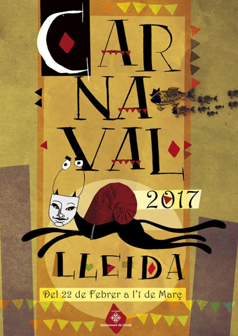 Propuesta de Cartel para el carnaval de Lleida 2017 0