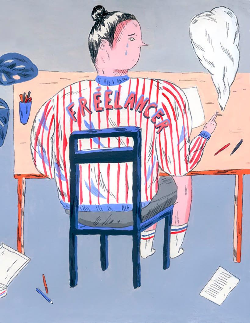 La oda ilustrada, de Mariana, a miserável, a los freelance 1