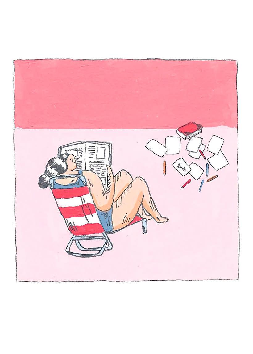 La oda ilustrada, de Mariana, a miserável, a los freelance 3