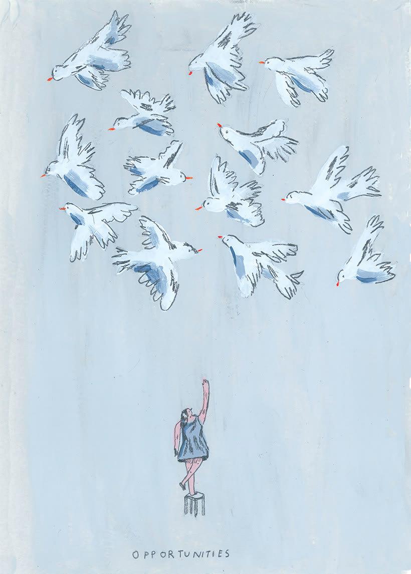 La oda ilustrada, de Mariana, a miserável, a los freelance 5
