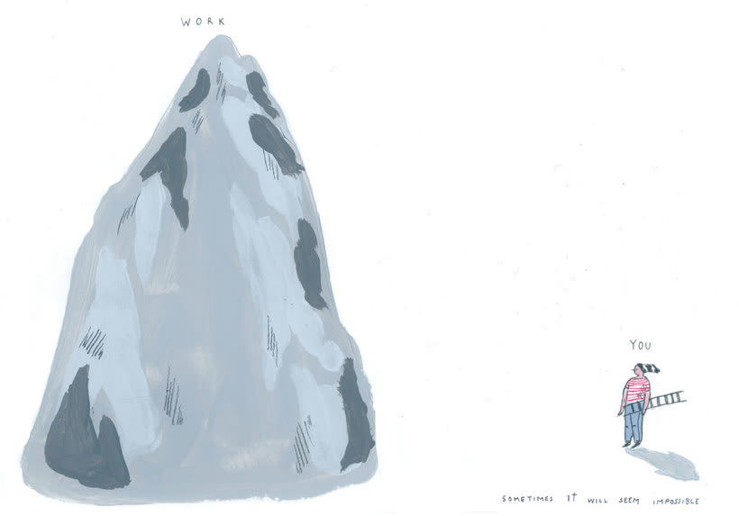 La oda ilustrada, de Mariana, a miserável, a los freelance 6