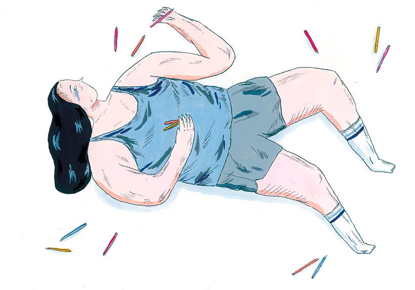La oda ilustrada, de Mariana, a miserável, a los freelance 10