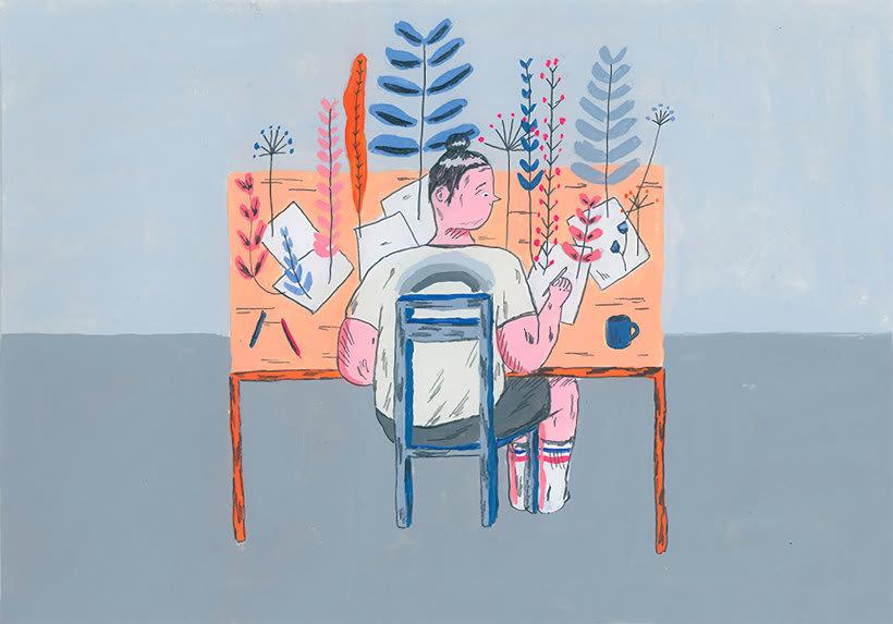 La oda ilustrada, de Mariana, a miserável, a los freelance 11