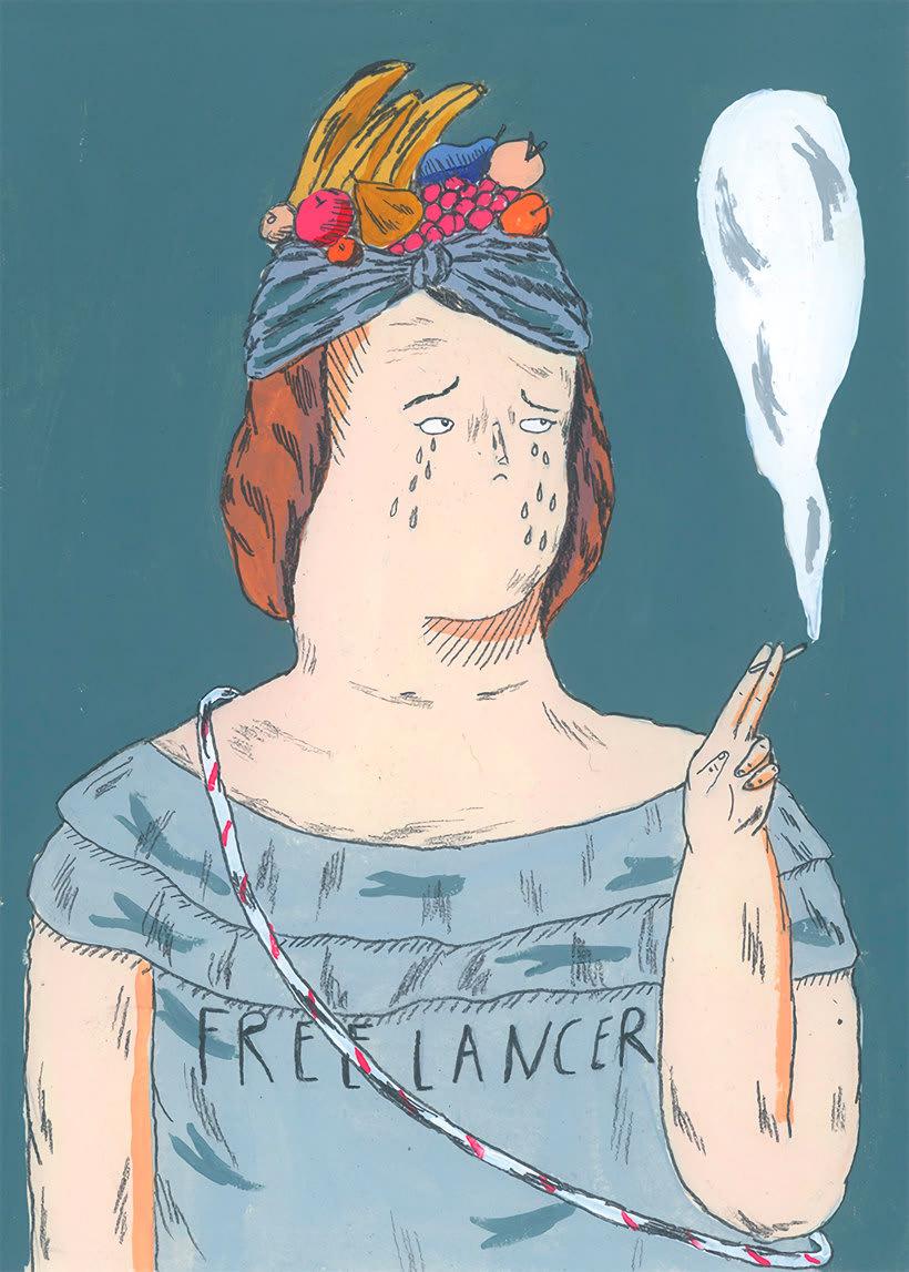 La oda ilustrada, de Mariana, a miserável, a los freelance 13