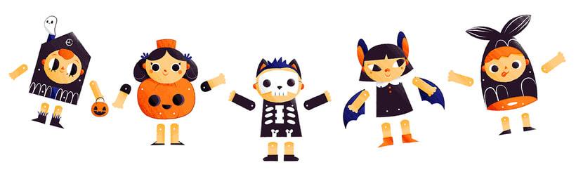 Pandilla Pesadilla - Paper Dolls 2