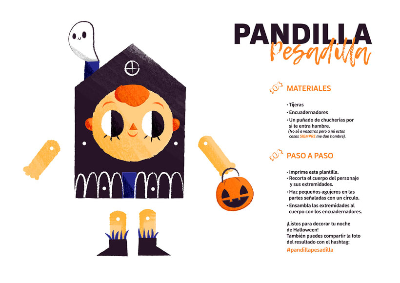 Pandilla Pesadilla - Paper Dolls 8