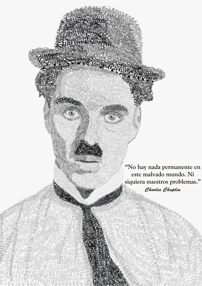 Charlie Chaplin tipográfico  3