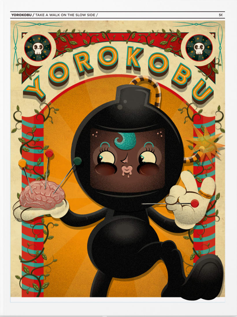 Portada y contraportada revista Yorokobu -1