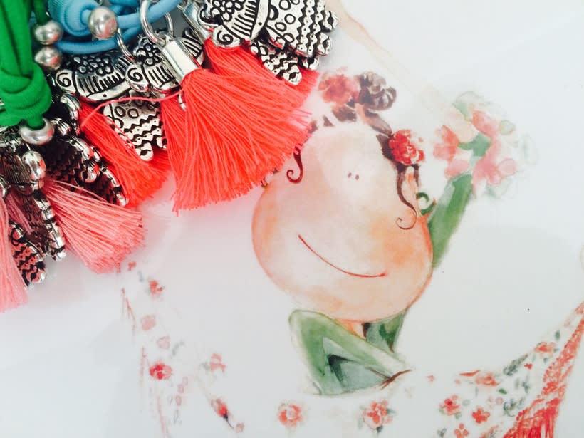 Muy flamencas:  Mini prints y pulseras.  -1