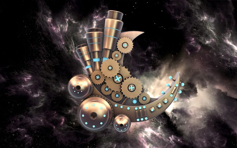 The cosmik walker 0