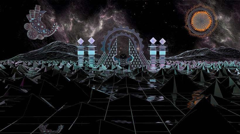 The cosmik walker 1