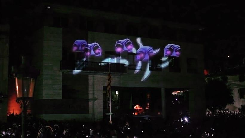 3D Projection mapping / Escaldarium   8