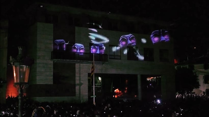 3D Projection mapping / Escaldarium   9