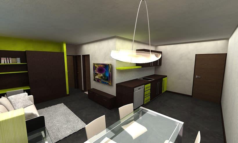 Diseño de Interiores para Hotel  Isla de Bonaire  1
