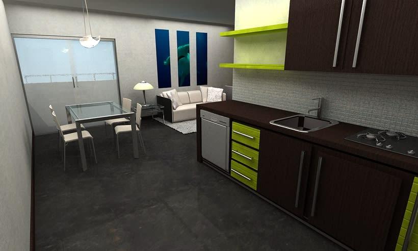 Diseño de Interiores para Hotel  Isla de Bonaire  3