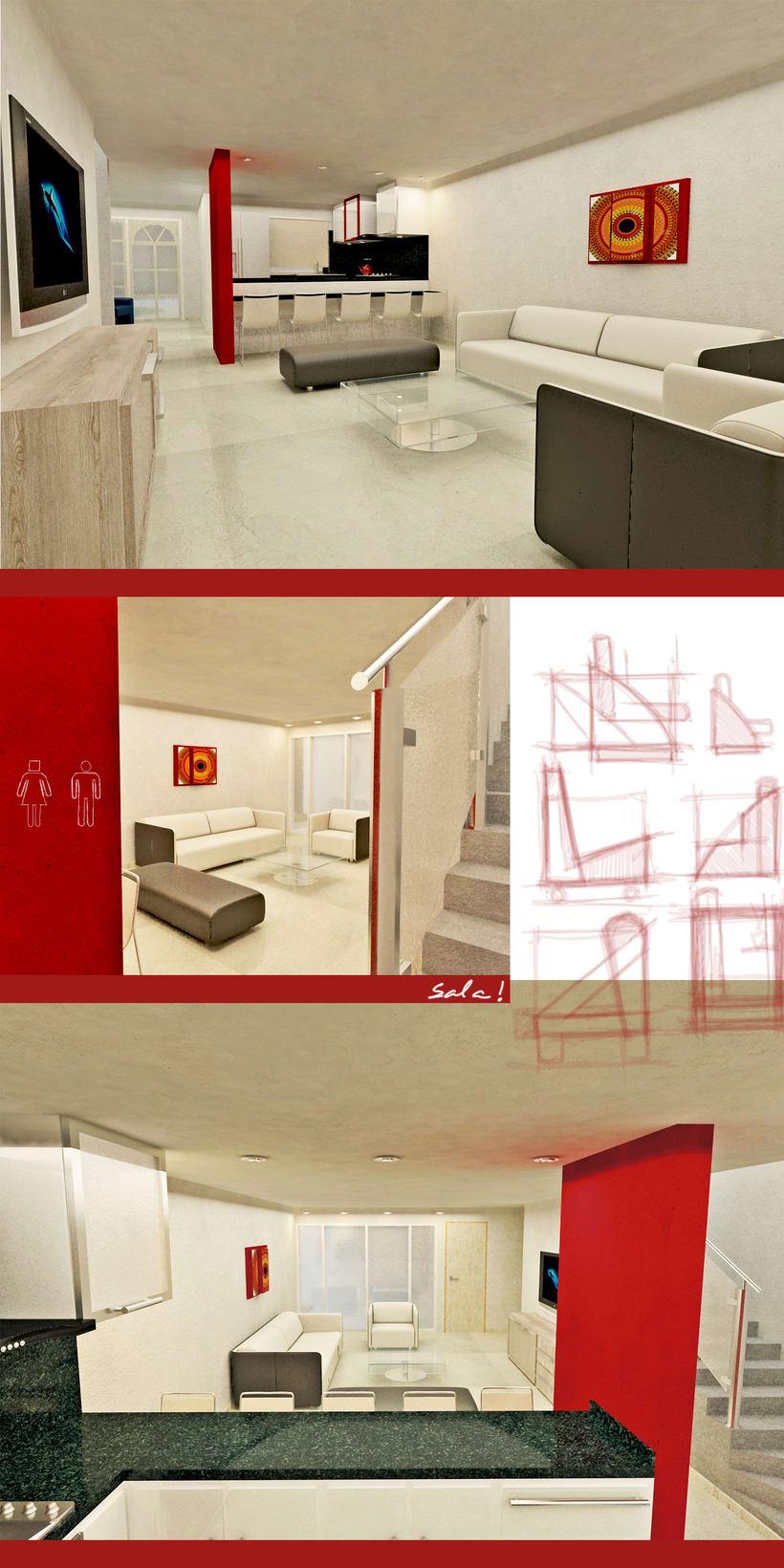 Diseño de Interiores para pareja  1