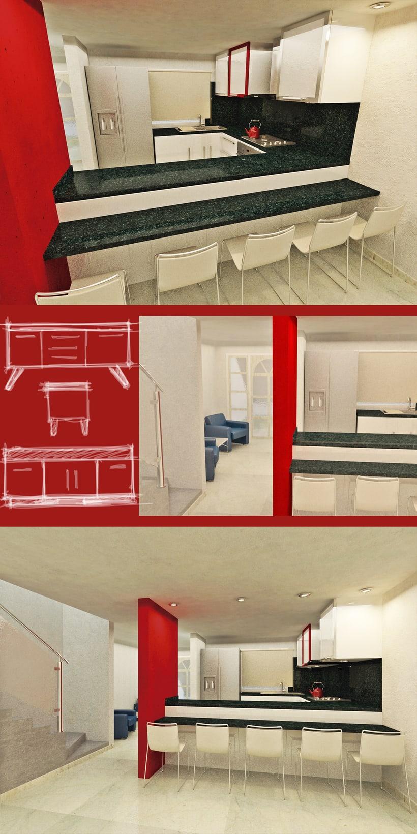 Diseño de Interiores para pareja  2