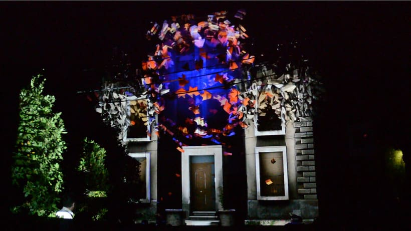 3D Projection mapping / Argentera 16