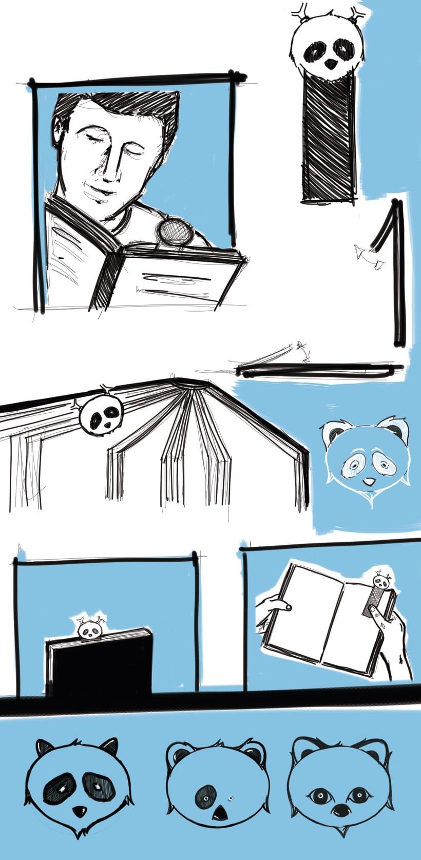 Bocetos para marca libros de recuerdo 4