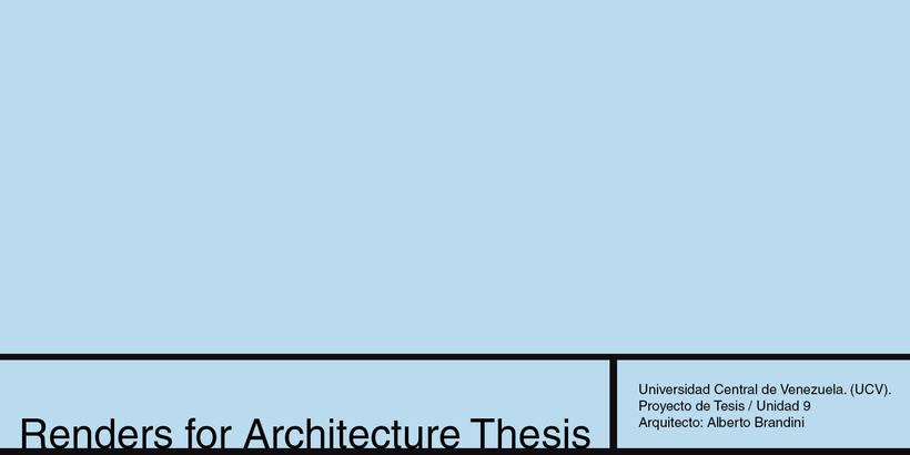 """Render para """"OTRO"""" alumno de Arquitectura  O 0"""