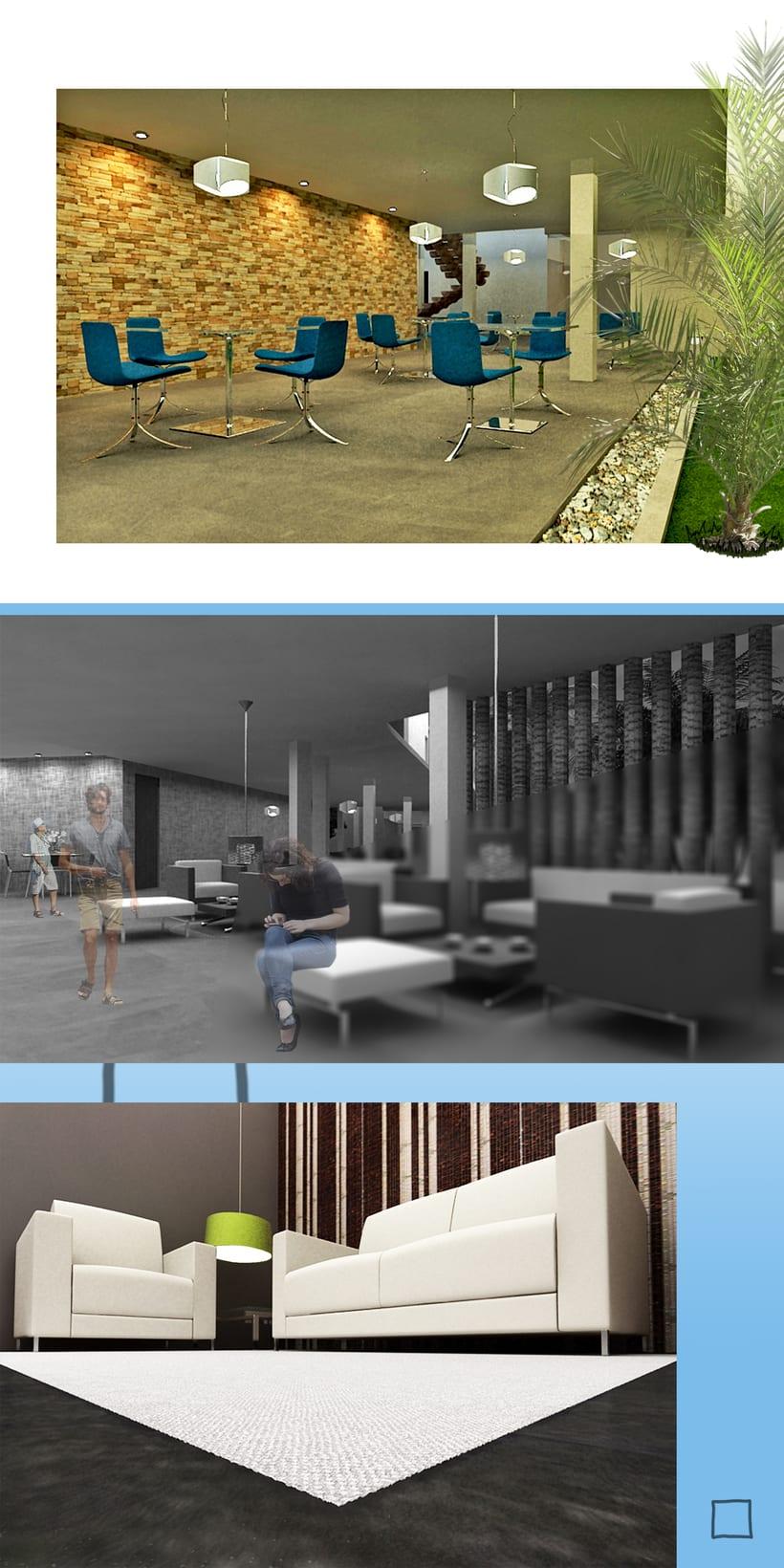 Imágenes para Tesis de diseño de Interiores  1