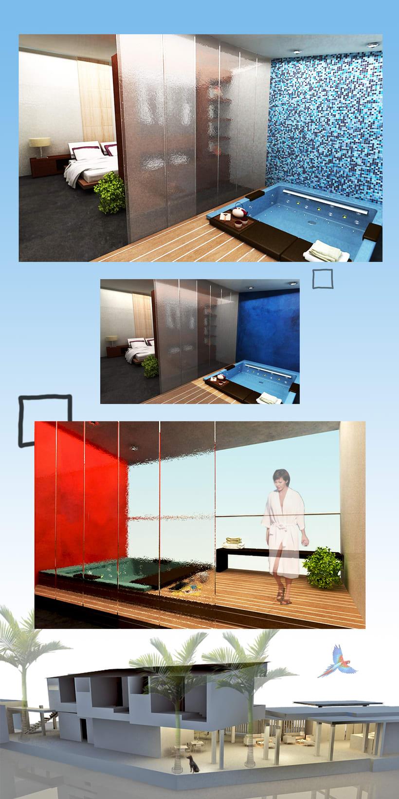 Imágenes para Tesis de diseño de Interiores  2